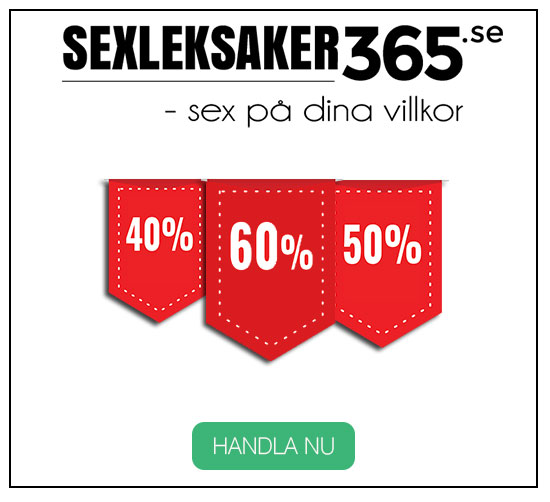 Köp dina sexleksaker billigt och diskret på Sexleksaker365.se