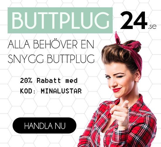 Köp Buttplug & Analplugg billigt på Buttplug24.se
