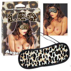 leopard blindfold