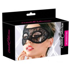 Eyes wide shut mask i svart spets
