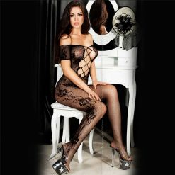 Chili Rose Bodystocking, Flower Power