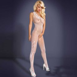 Obsessive White Dancer Bodystocking