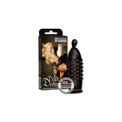 Secura Dark Desire, svarta kondomer med knottror