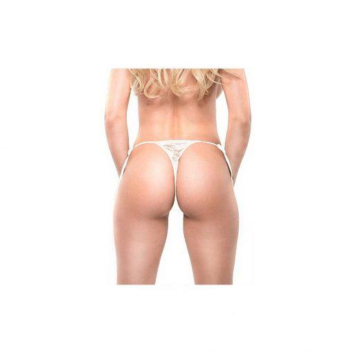 Date Night Remote Control Panties - White