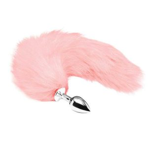 Pink Tail Buttplug