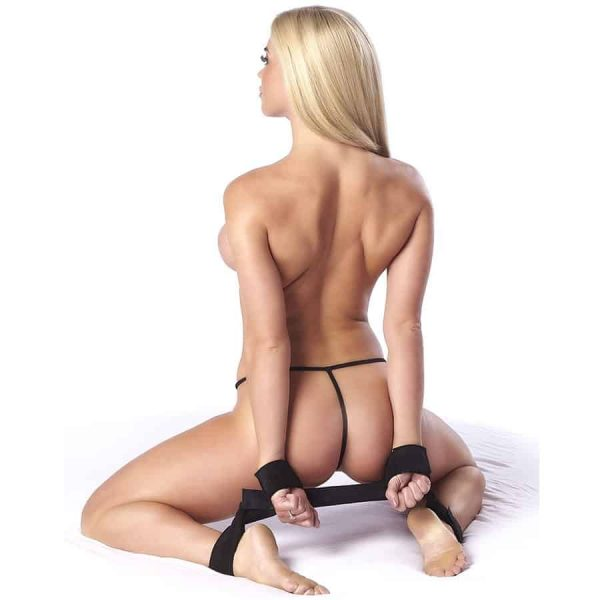 Bondage Play Spreader bar with cuffs
