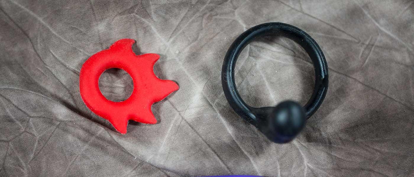Penisring med eller utan vibrator köper du billigt på sexleksaker365.se
